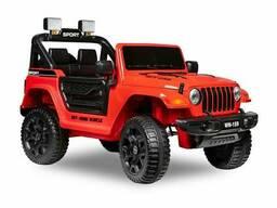 Детский электромобиль Kid's Care Jeep Safari (красный)