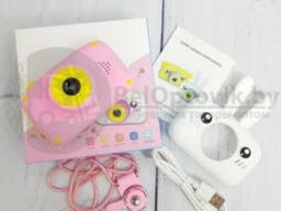 Детский фотоаппарат Zup Childrens Fun Camera со встроенной памятью и играми Заяц. ..