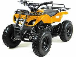 Детский квадроцикл MOTAX ATV Мини-Гризлик Х-16 Big Wheel (электростартер, родительский пул