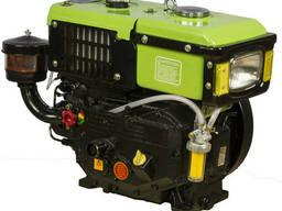 Дизельный двигатель R180NDL (Аналог Honda) 10.5 л. с. вал 25 мм под крепление для. ..