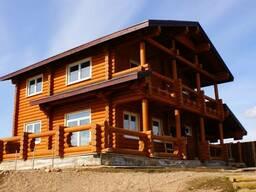 Дом жилой из оцилиндрованного бруса
