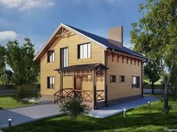 Дома из профилированного бруса и каркасное домостроение