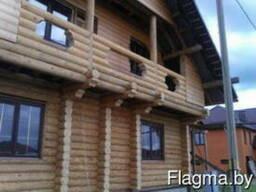 Дома из срубленной древесины