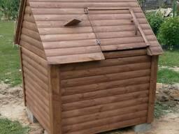Домик для колодца Водопой из блок-хауса
