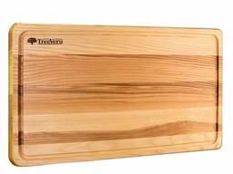Доска деревянная кухонная разделочная прямоугольная ясень 50x30х2см Украина опт