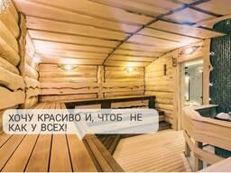 Доска для бани в стиле Леший