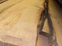 Не обрезная доска 25 мм. Длина 6 метров.