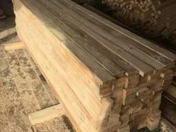 Брус, доска 25-100х100х3000мм 1, 2 сорт из сырой древесины