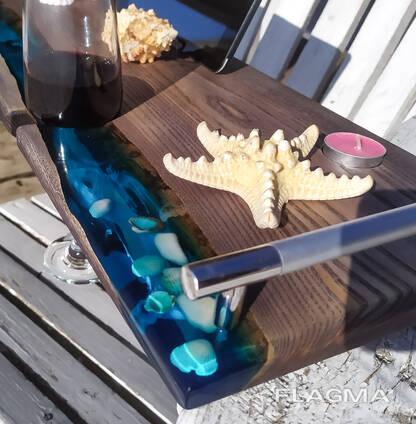 Доска, полка, столик для ванной, на подарок