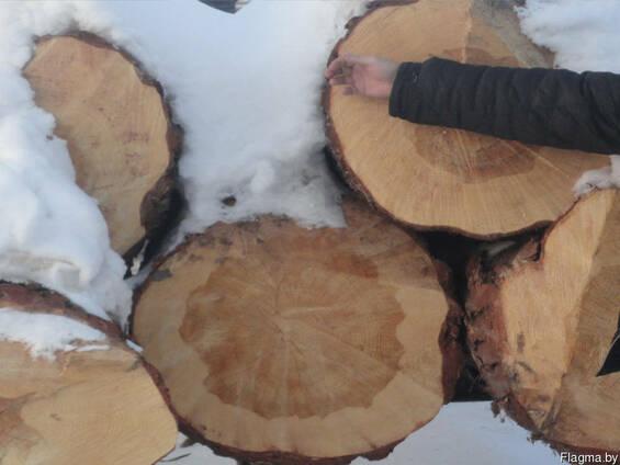 Лес кругляк (ясень, дуб, ольха, берёза) дорого