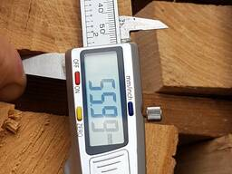 Доска ясеня не обрезная 8% 50мм 3м 0-1сорт. Экспорт 60м3 - фото 3