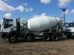 Доставка бетона автобетоносмесителями до 9м3
