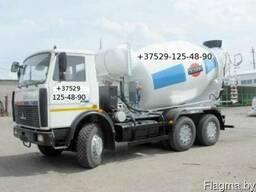 Доставка бетона, раствора автобетоносмесителем