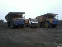 Доставка гравия,песка,вывоз мусора самосвалом 20тон,13куб