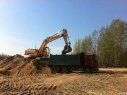 Доставка песка в Витебске - доступные цены на песок!