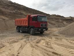 Доставка-продажа песка (сеяного, ПГС, гравий, чернозем, АС2, АС5 и т. д)