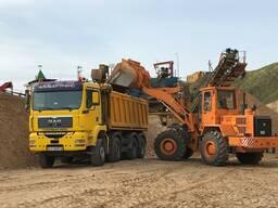 Доставка-продажа, песка, гравия, ПГС, щебняи т. д. 30 тонн