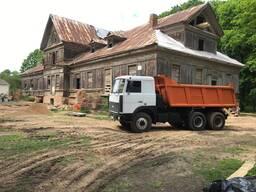 Доставка-продажа, песка, гравия, ПГС, щебняи т. д. 20 тонн