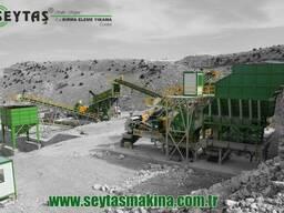 Дробильно сортировочные установки Сейташ (Seytas Makina)