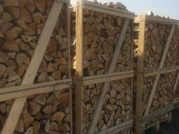 Дрова: береза, ольха, дуб, ясень. Сырые и сухие в ящиках на экспорт.