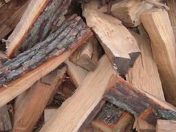 Дрова дубовые колотые сухие 25см