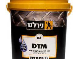 DTM Water эмаль акриловая для окраски дерева, металл, пластик