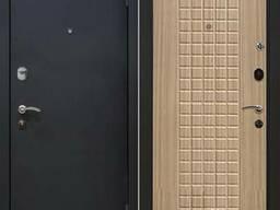 Дверь МеталЮр М22, беленый дуб