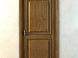 Двери из массива дуба, ясеня, вяза, клена.
