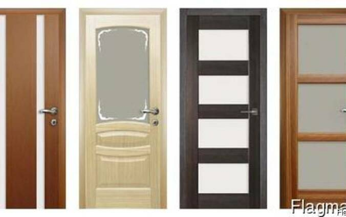 Двери из массива ольхи, дуба любых размеров