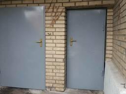 Двери металлические для подвалов, мусорокамер, хоз.помещений