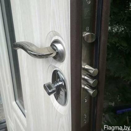 Двери металлические | теплые | цельно гнутые | установка