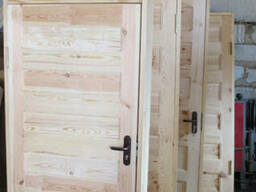 Двери межкомнатные, входные , в баню.