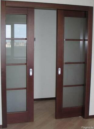 Двери Спасские, раздвижные.