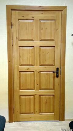 Двери Спасские, входные деревянные.