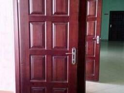 Двери Спасские, входные деревянные. - фото 2