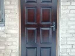 Двери Спасские, входные деревянные. - фото 3