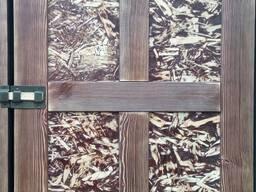Двери Спасские, входные деревянные. - фото 8