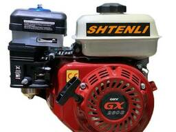 Двигатель GX260s (Аналог Honda) 8.5 л. с. вал 25 мм под шлиц (или 168F, 170F) + подарок. ..