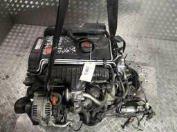 Двигатель в сборе для Volkswagen Touran, 2003 - 2006 2.0 дизель BKD.