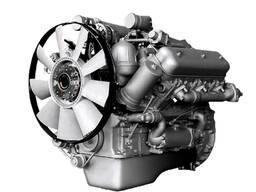 Двигатель ЯМЗ-236 после капитального ремонта