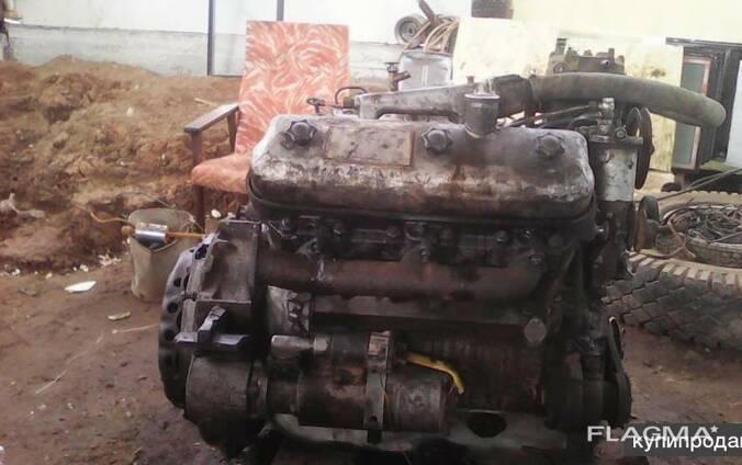 Двигатель ЯМЗ-236 с навесным оборудованием