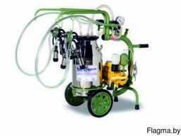 Двойной переносной доильный аппарат A002 (1 ведро)