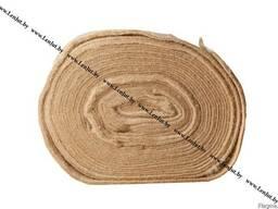 Джутовая лента (короткое волокно) 200мм/8мм/20м
