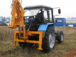 Экскаватор быстромонтируемый на трактора беларус мтз