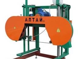 Электрическая ленточная пилорама Алтай-3 700у