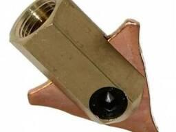 Электрод-зажим для треугольного наконечника