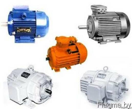 Электродвигатели 15 30 37 45 55 75 90 100 кВт в наличии