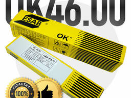 Электроды сварочные OK 46.00 Ø 4.0 пр-во РФ, ESAB-SVEL, 6.6