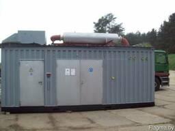 Электрогенератор дизельный в контейнере MTU 800 kW /1000 KVa