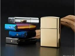 Электронная USB-зажигалка с двойной дугой (классическая Х) - фото 2